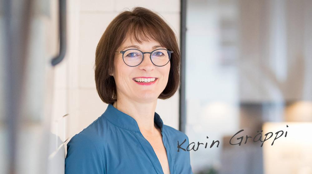 Karin Gräppi unterstützt Führungskräfte mit Coaching und Mentoring
