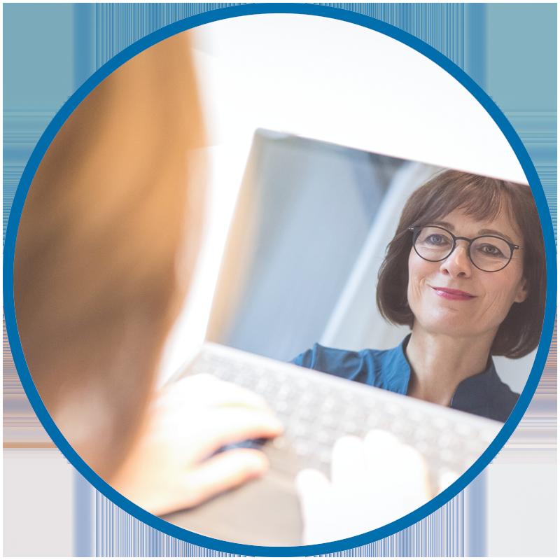 Online Coaching und Online Mentoring sind möglich