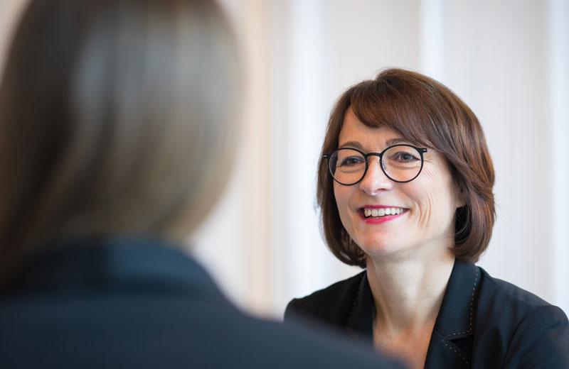 Eine Coaching-Sitzung bei Karin Gräppi in Berlin